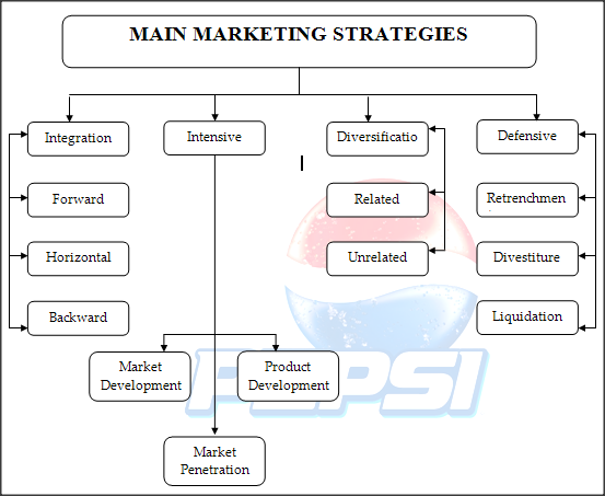 pepsico marketing strategy critique Gabrielle dziadkowiec marketing management professor jacoby critique of marketing strategy pepsico executive summary the pepsico inc company was first established in 1965 by the merger of the pepsi-cola company and frito lay, inc.
