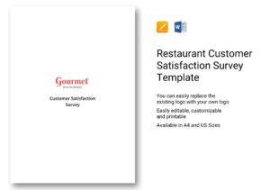 questionnaire on restaurant customer satisfaction survey