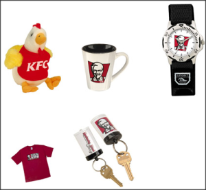 KFC promotion items