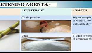 Adulteration in Different Flours, Suji And Sugar
