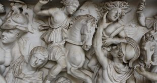 Sarcophagus With Scenes From The Life of Achilles