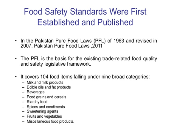 Growing Concerns About Food Safety and Quality in Global Trade