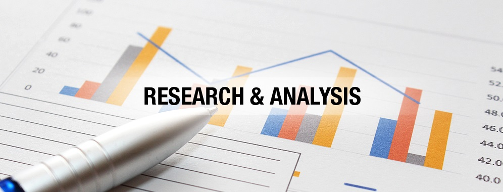 analysis of research This form of analysis is just one of the many steps that must be completed when conducting a research experiment data from various sources is gathered, reviewed, and then analyzed to form some sort of finding or conclusion.