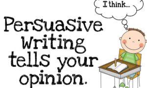 Persuasive Speech Example