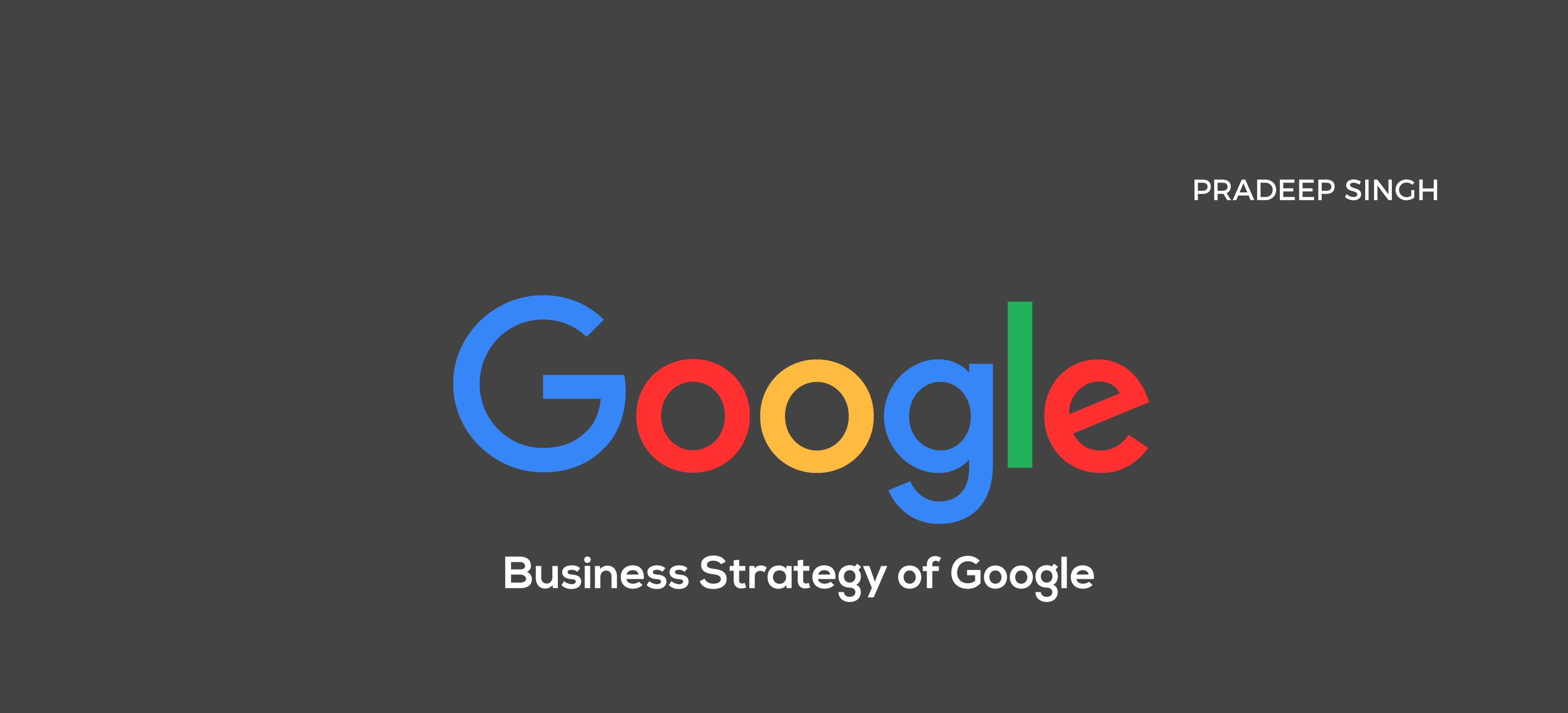 google corporate strategy analysis
