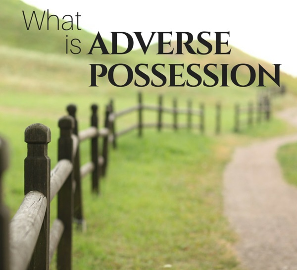 land law adverse possession To prove adverse possession under typical state law, a person claiming ownership of land through adverse possession must show that its possession is actual, open, notorious, exclusive, hostile, under cover of claim or right, and continuous and uninterrupted for a period of time defined by statute.