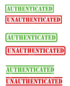 Authenticated and Unauthenticated Attack