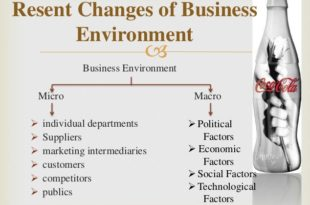 Business Environment Of Coca-Cola