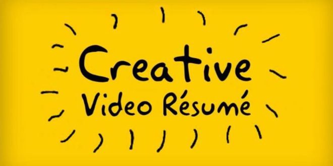 video resume script sample