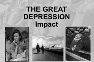 The Great Depression In The Canadian Economy