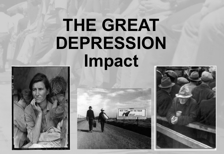How did the role of the federal government change during the Great Depression?