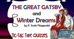 """The Great Gatsby"" and ""Winter Dreams"""