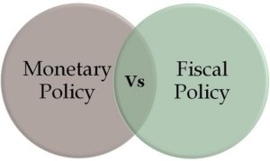 Difference Between Fiscal and Monetary Policy