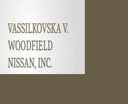 Vassilkovska v. Woodfield Nissan, Inc.