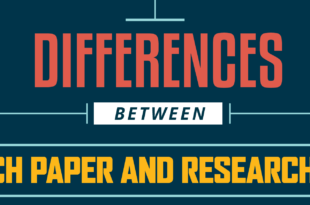 Difference Between Research Paper and Research Report