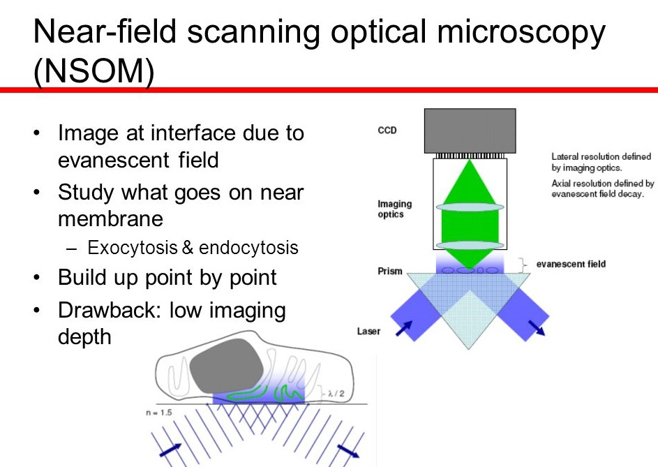 Near-Field Scanning Optical Microscopy Advantages and Disadvantages