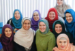 Young Muslim Women Wearing Hijab in America