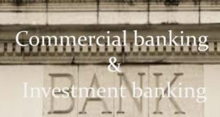 Separation of Investment Banking from Commercial Banking