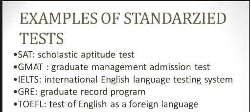Standardized Testing in Saudi Arabia