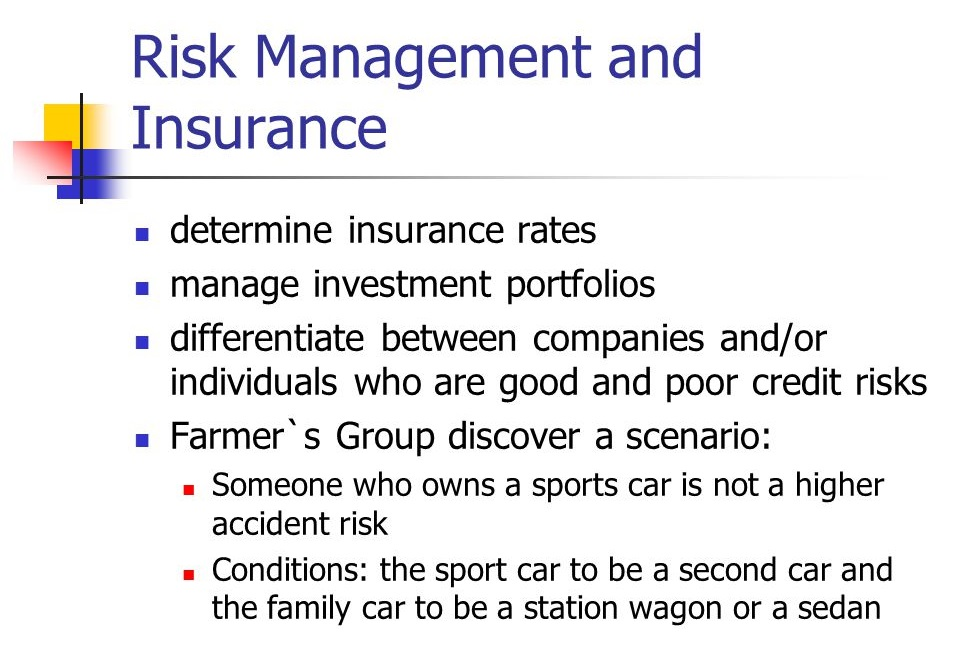 Risk Management and Insurance Career Profession