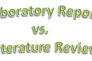 Comparison Between Genres of Laboratory Report and Literature Review