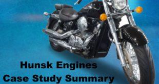 Hunsk Engines Case Study Summary