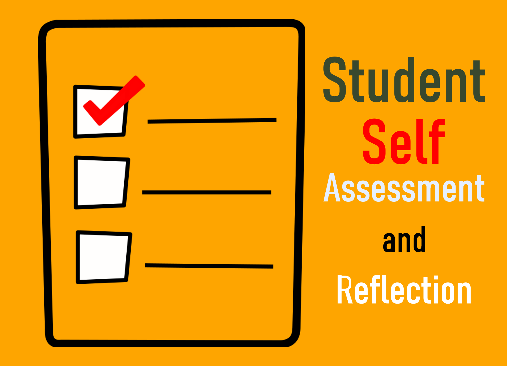 Student Self Assessment and Reflection Example | Bohatala com