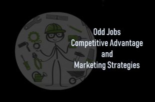 Odd Jobs Competitive Advantage and Marketing Strategies Summary