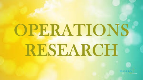 Operation Research System Analysis Summary