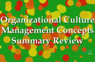 Management Concepts in Organizational Culture