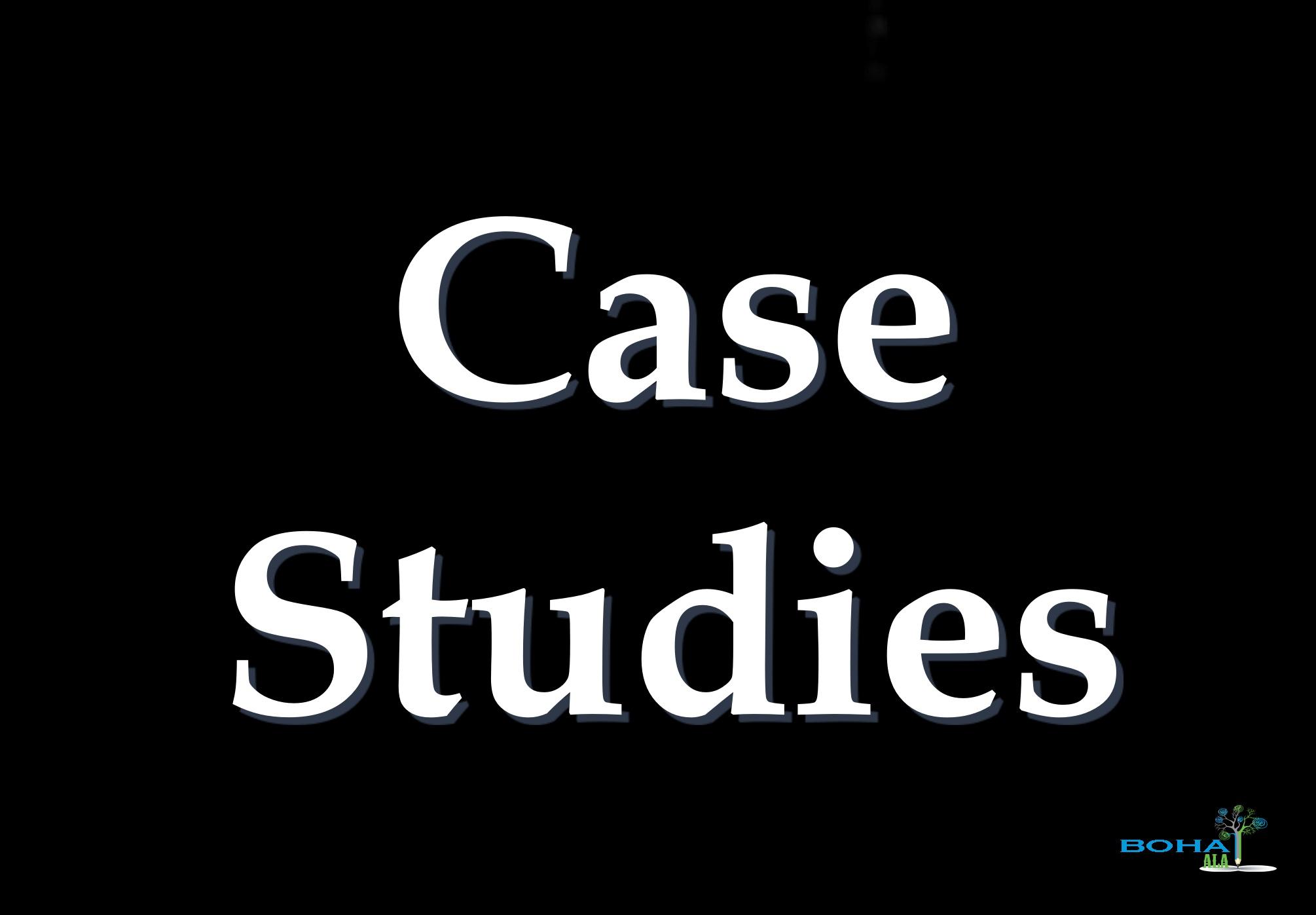 Short Case Studies Analysis