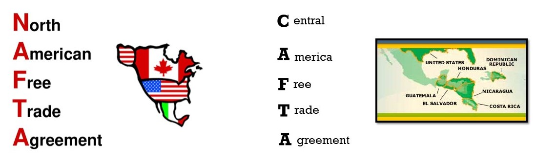 Advantages and Benefits of NAFTA and CAFTA