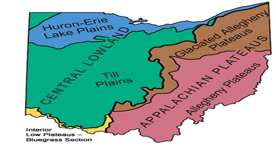 Physiography Regions Of Ohio