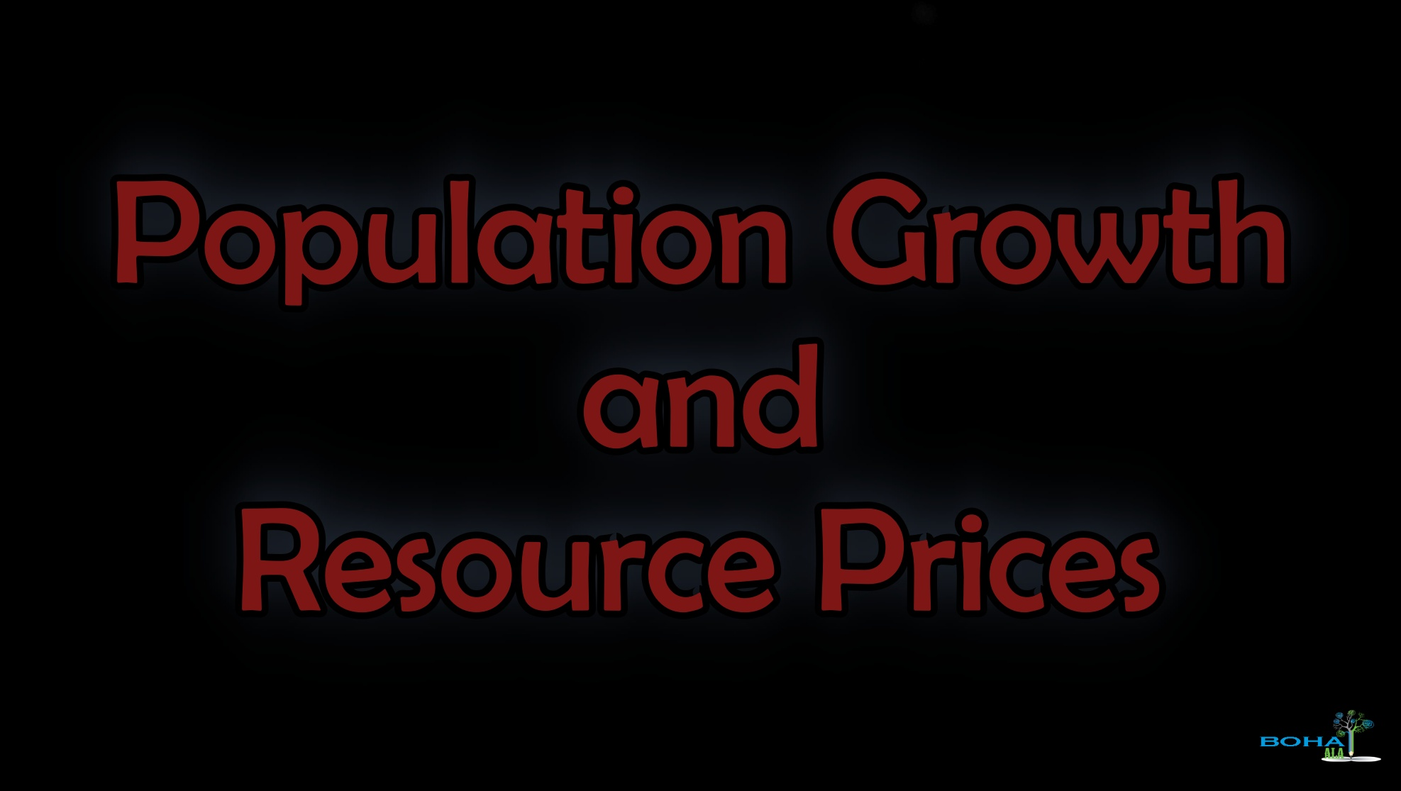 Impact of Increase in Population on Resource Prices