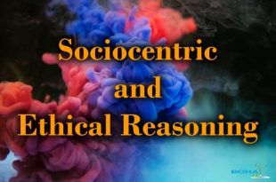 Sociocentric and Ethical Reasoning