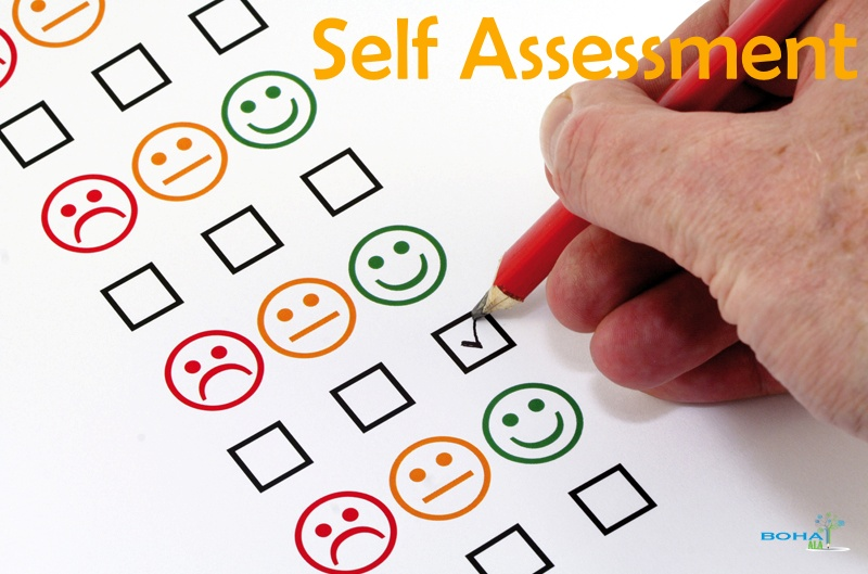 Student Self Assessment Example