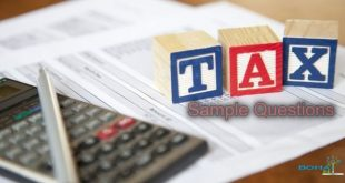 Tax Sample Questions