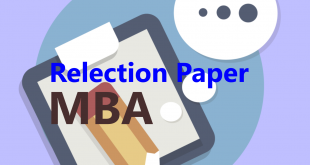 MBA Degree Reflection Paper Example