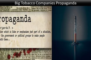 Big Tobacco Companies Propaganda