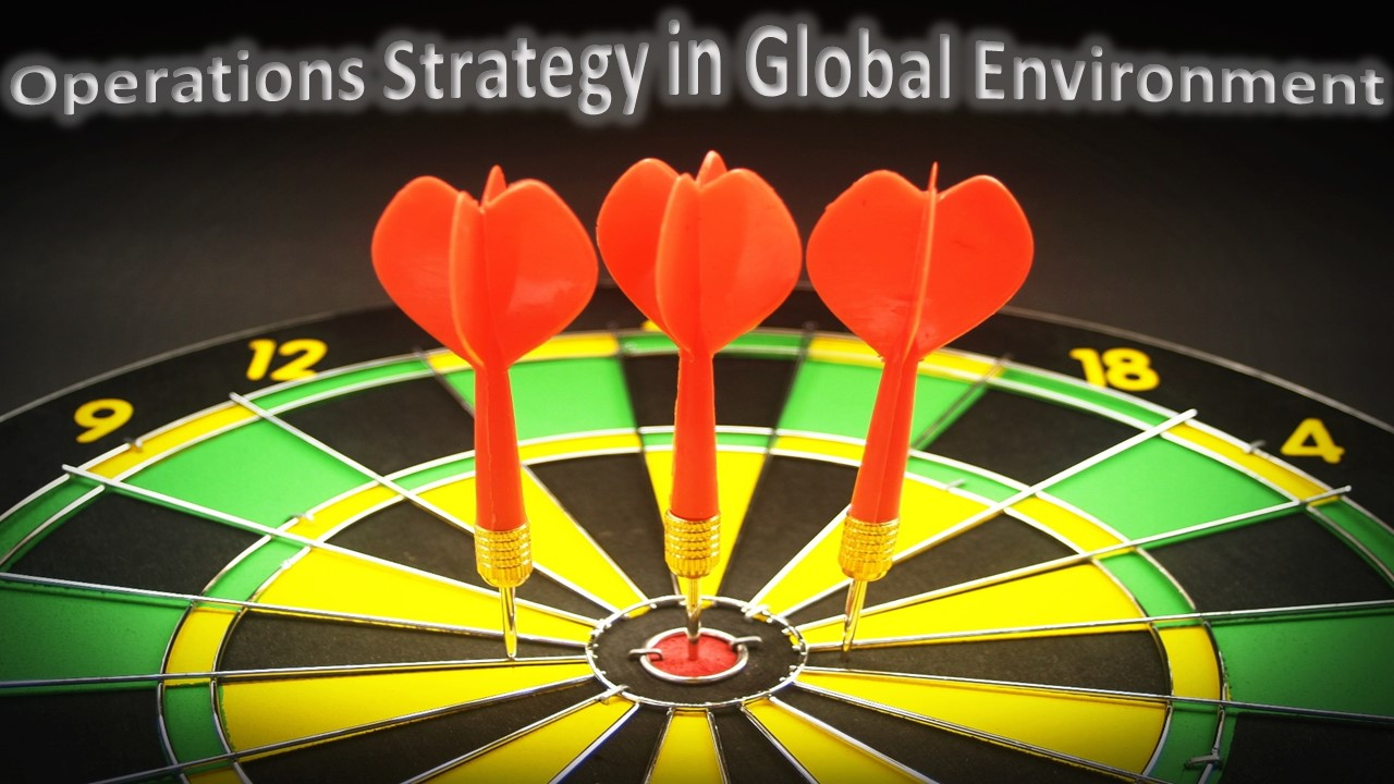 Operations Strategy in Global Environment: Cost or Price, Quality, Delivery Speed