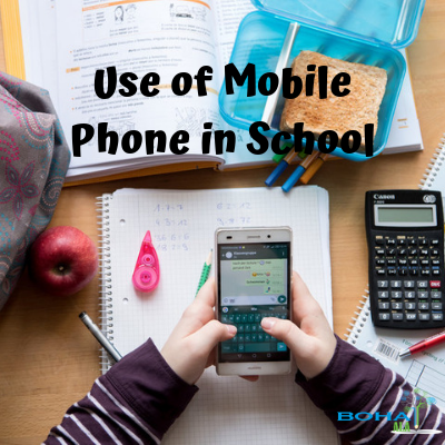 Arguments on Mobile Phones Use in School