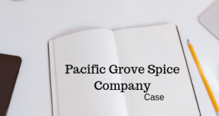 Pacific Grove Spice Company Case Questions Answers