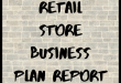 Retail Store Business Plan