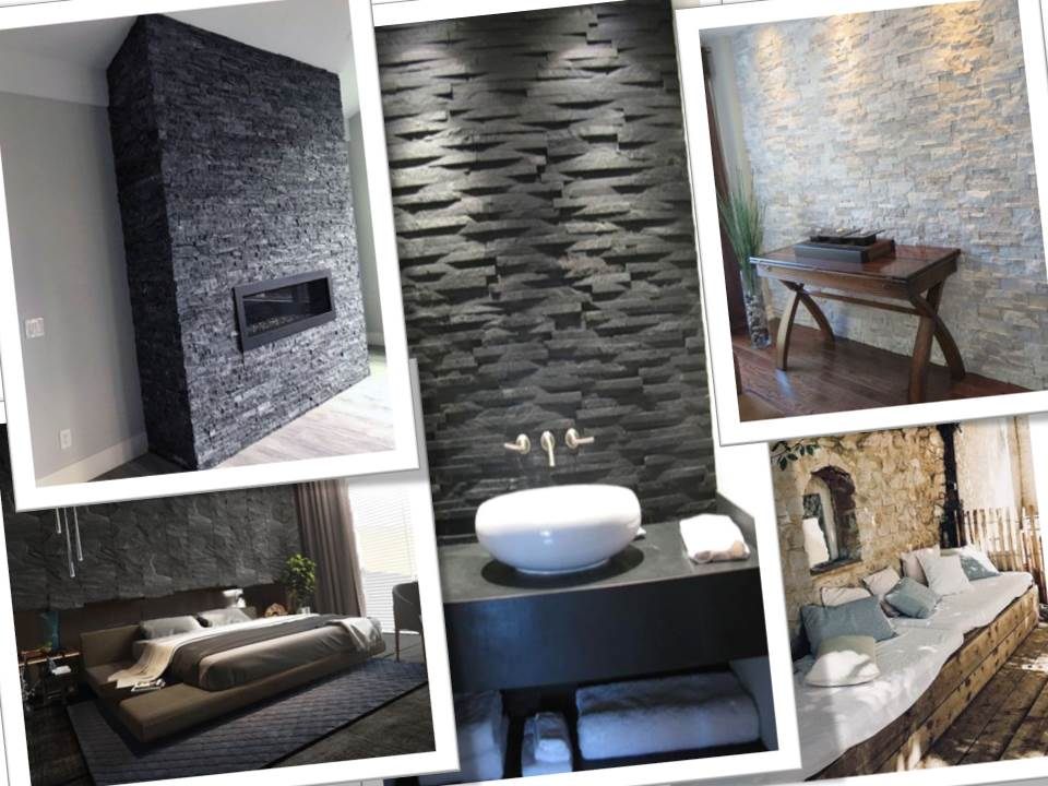 40 Stone Wall Designs and Styles | Living Room | Bedroom ...