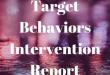 Targeted Behavioral Intervention Report