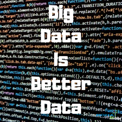 Big Data is Better Data By Kenneth Cukier