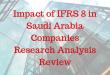 Impact of IFRS 8 in Saudi Arabia Companies Research Analysis
