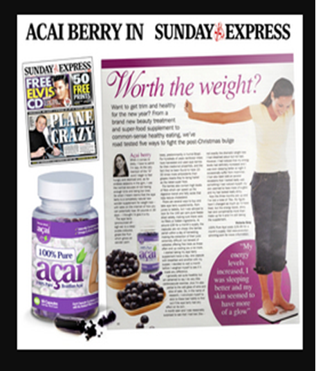 Acai Berry Advertisement Evaluation