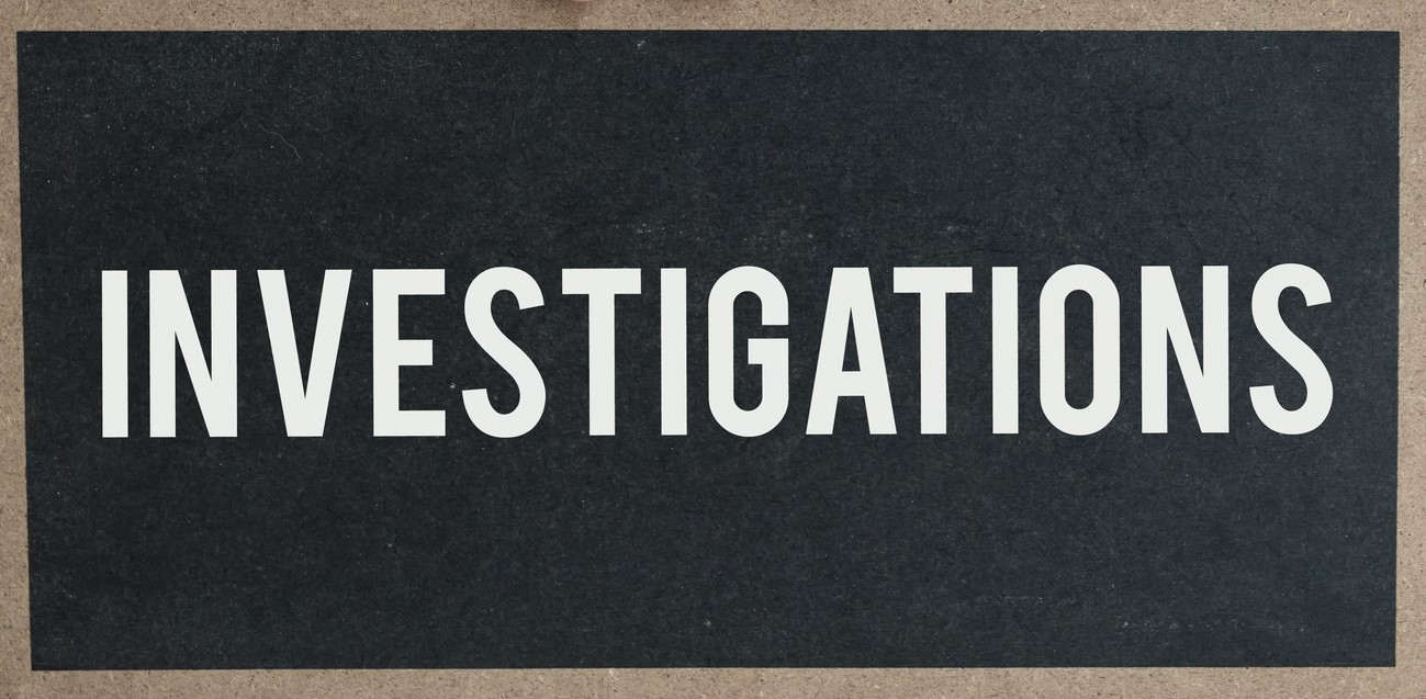 Actions to be Taken in an Investigation