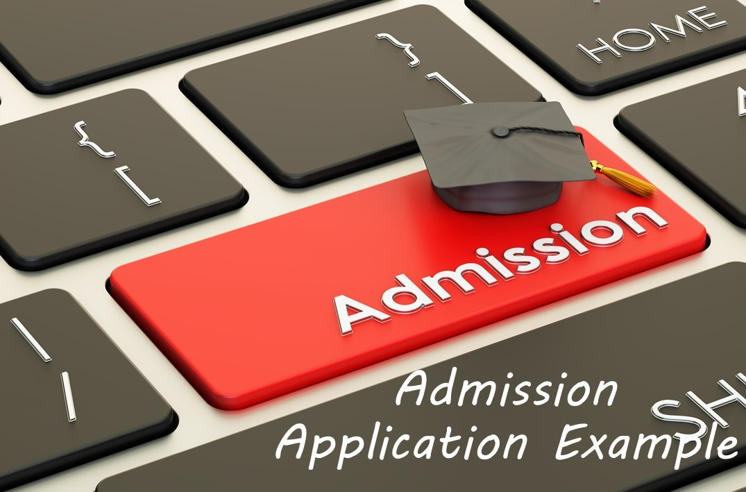 Admission Application Example